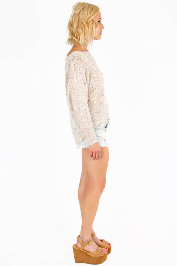 Dazzle Me Knit Sweater