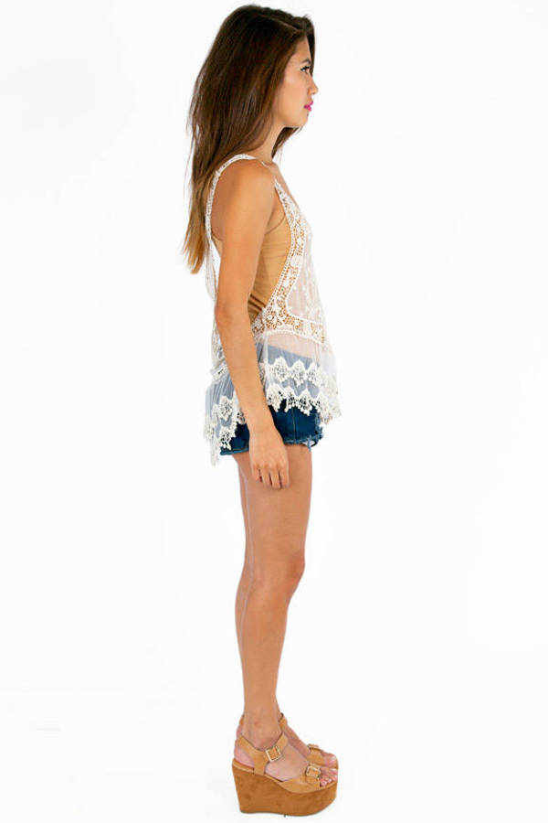 Lace Your Orders Racerback Top