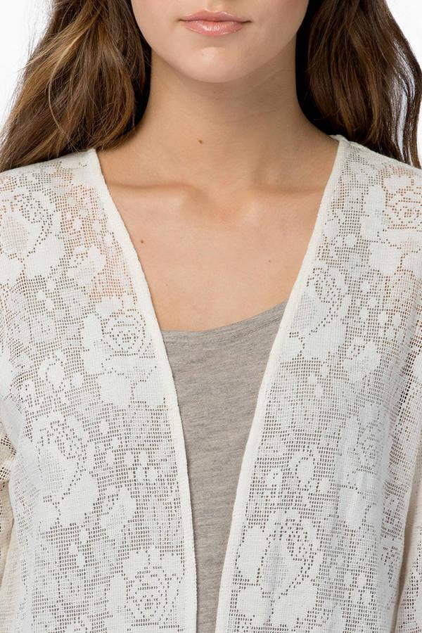 MINKPINK Summer Loving Lace Kimono