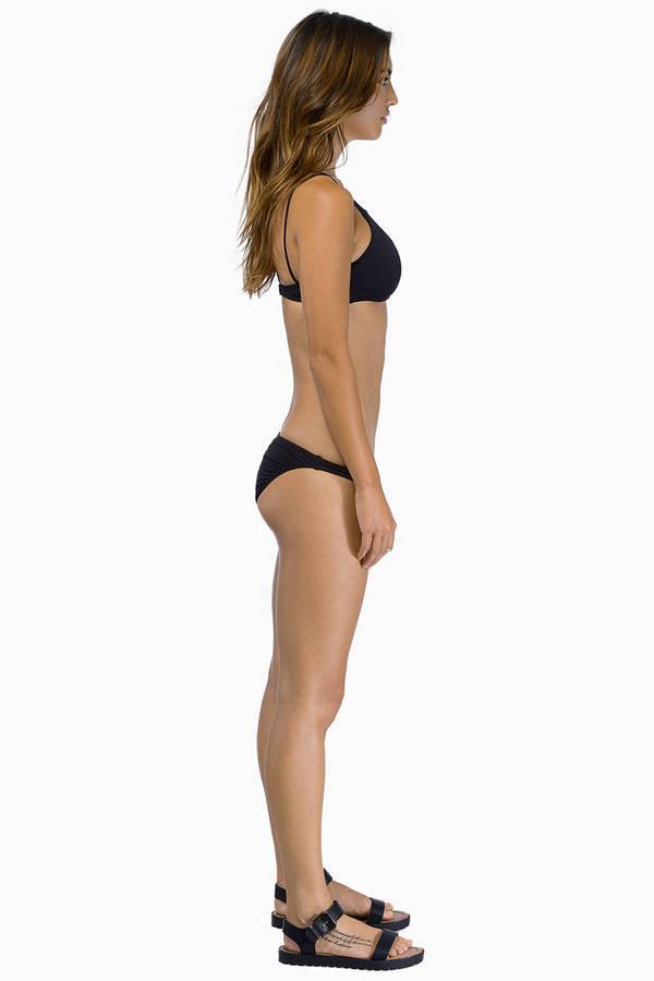 Insight Catfight One Shoulder Bikini Set
