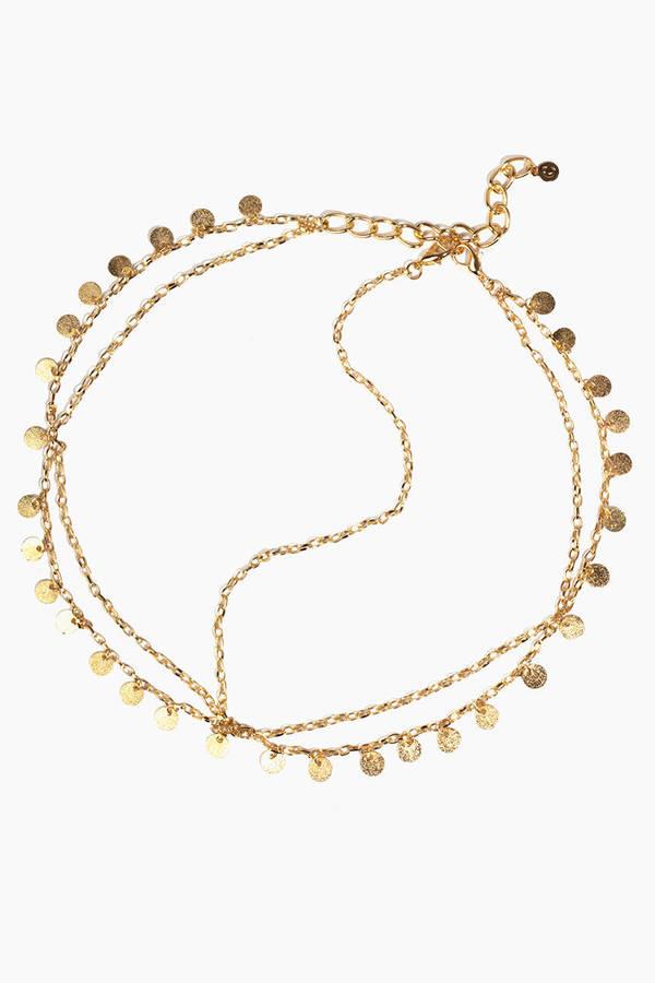 Boho Medallion Head Chain