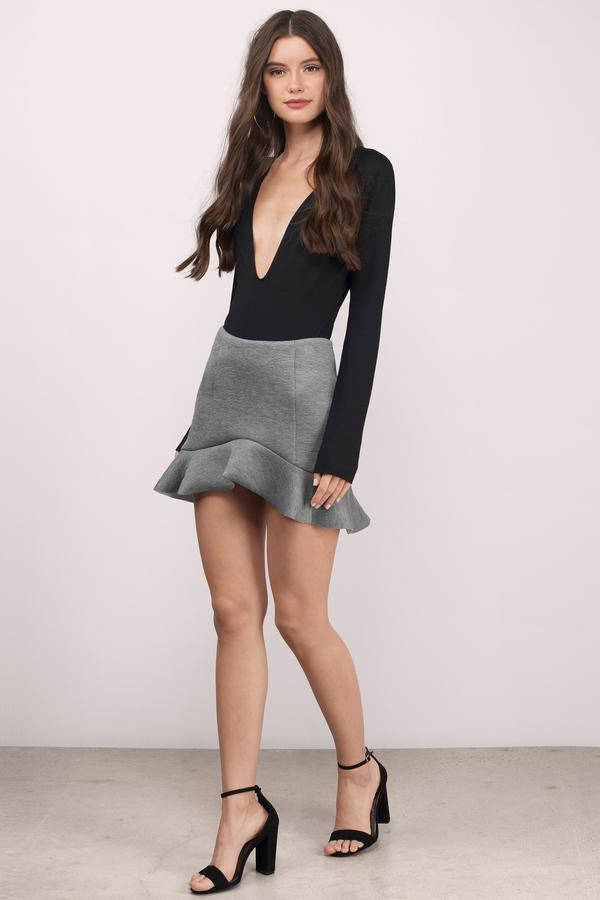 trendy black skirt black skirt mini skirt black