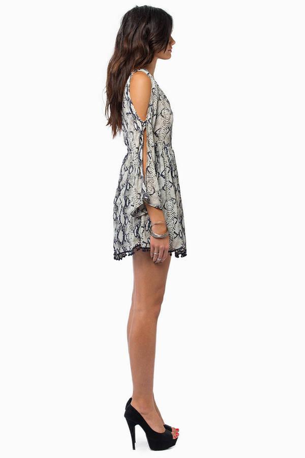 Scale Back Dress