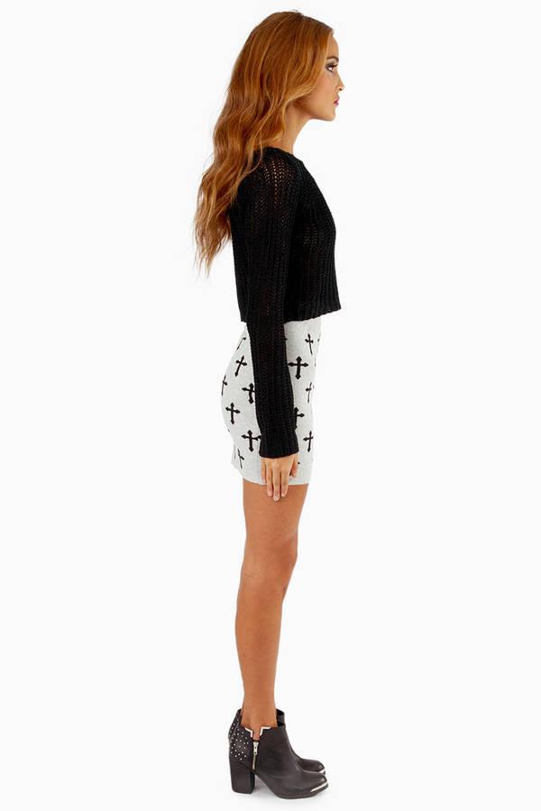 Knit Wit Crosses Skirt