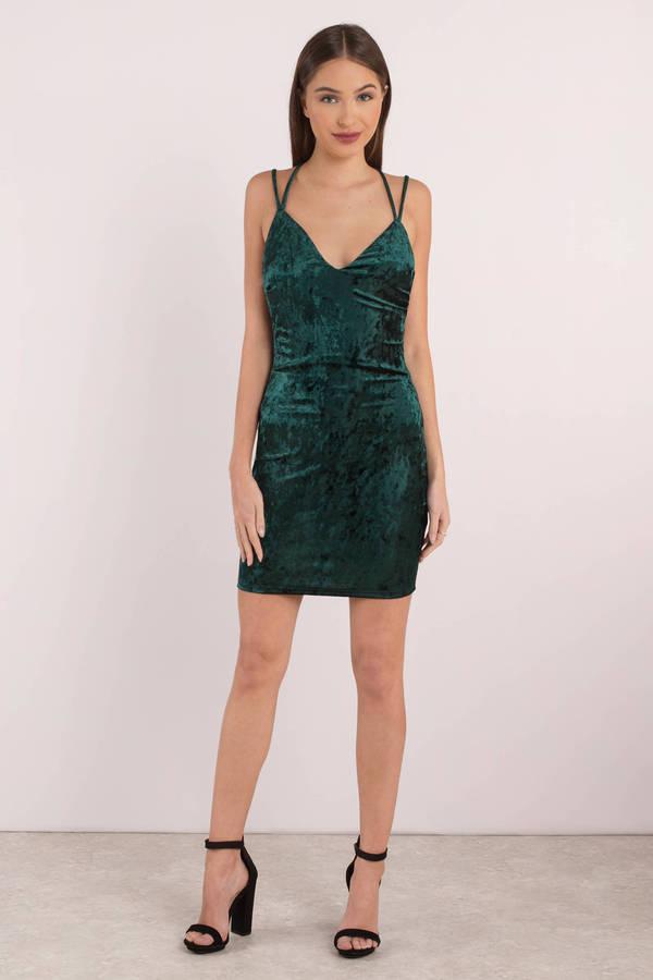 Selfish Velvet Bodycon Dress