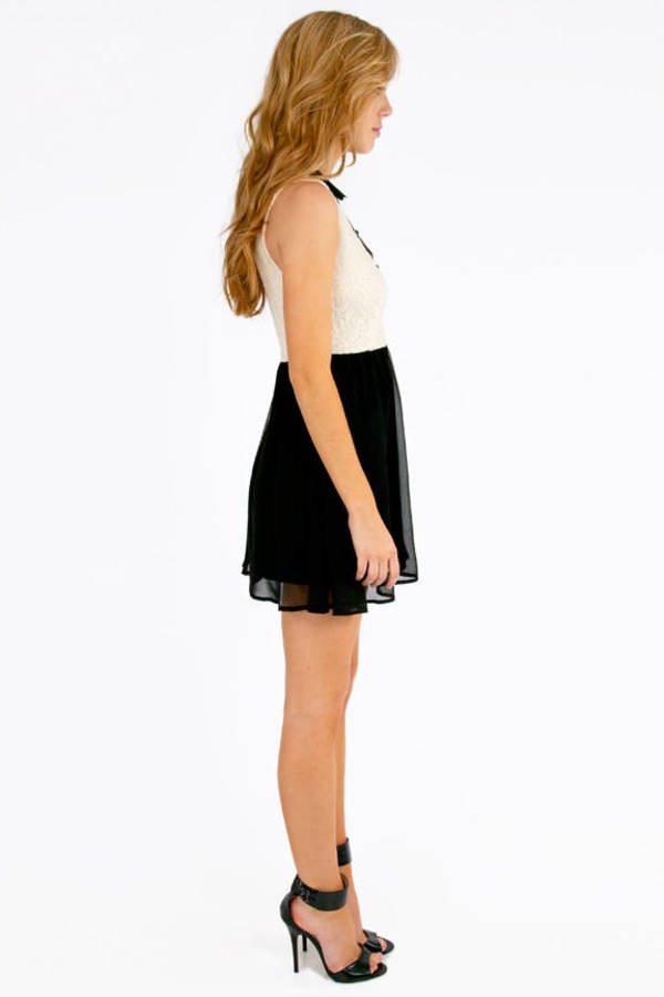 Reign On Lace Skater Dress