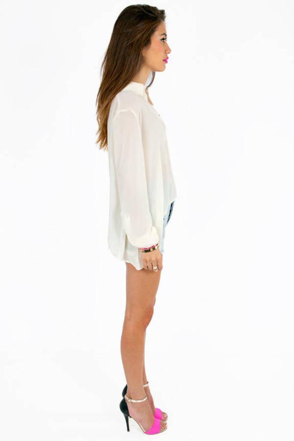 Evie Pocket Blouse