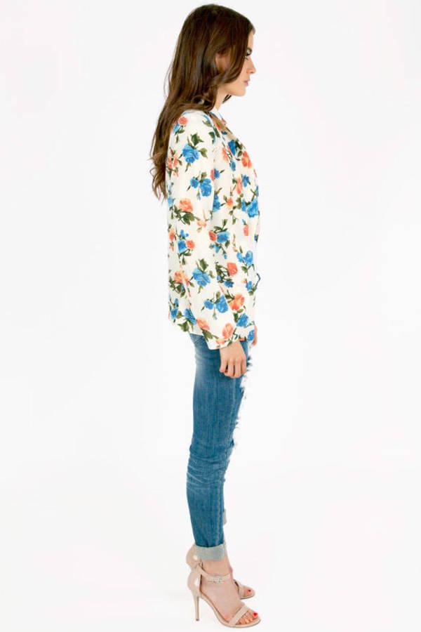 Ava Garden Vintage Blazer