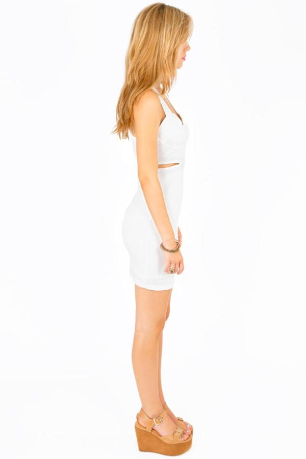 Gem Cutout Dress