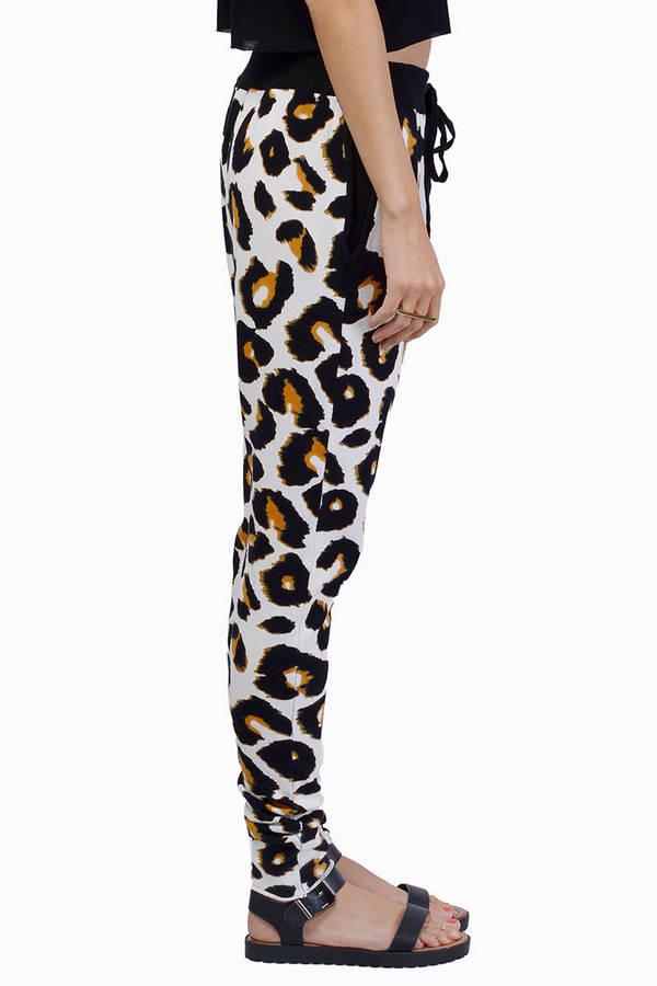 somedays lovin Jagger Leopard Knit Joggers