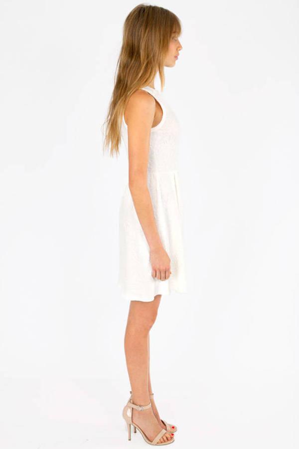 Raised Right Skater Dress