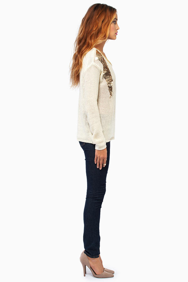 Rendevouz Long Sleeve Sweater