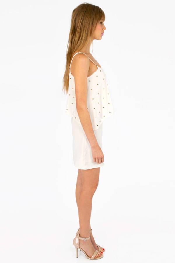 Studded Tier Dress