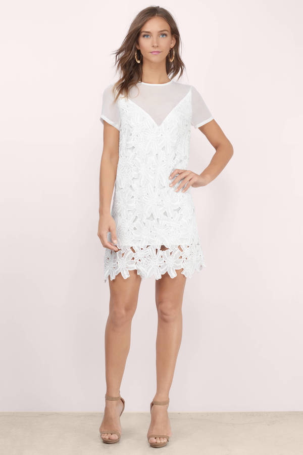 Trust Me Lace Shift Dress