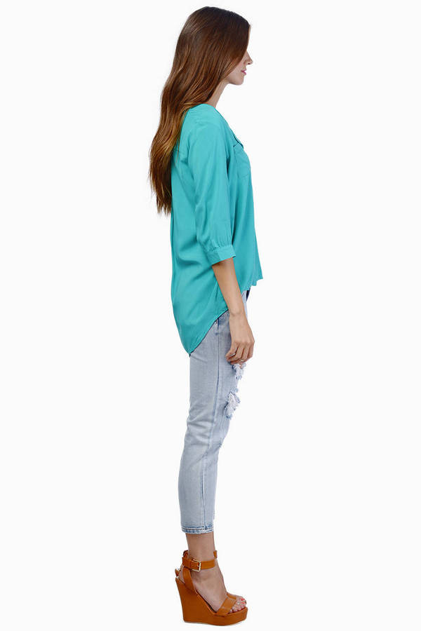 Naya Pocket Blouse