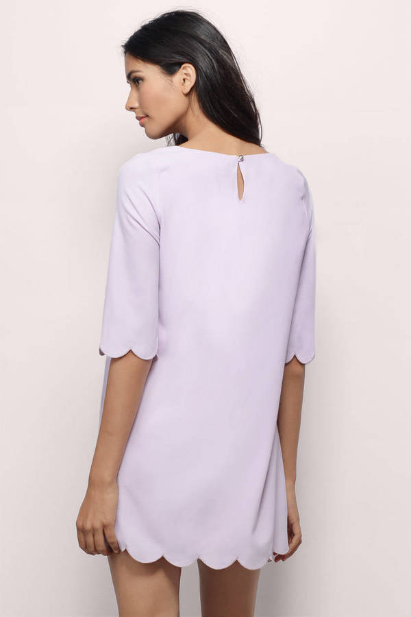 Sweetly Scalloped Dress