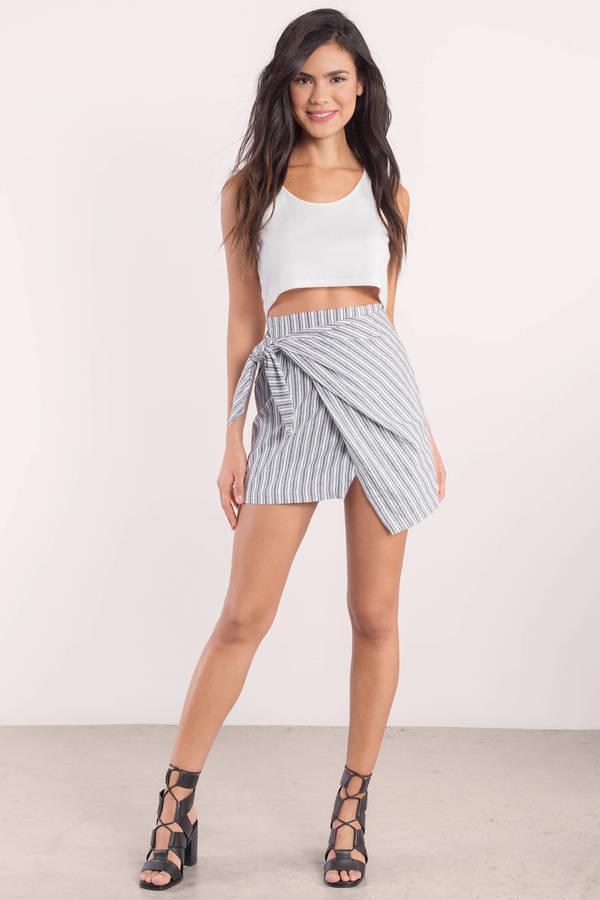 846cbe299be Cute Light Grey Skirt - Draped Skirt - Grey Skirt - Light Grey Skirt ...