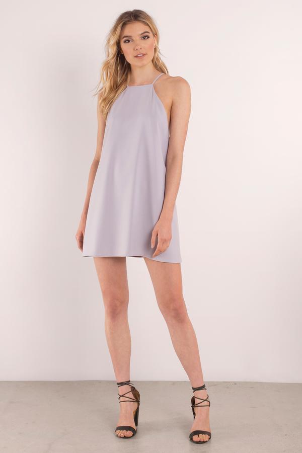 7634ffa7eb2 Lilac Dress - Sleeveless Dress - Purple Flared Dress - Shift Dress ...