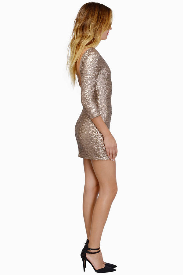 See Me Sequin Bodycon Dress