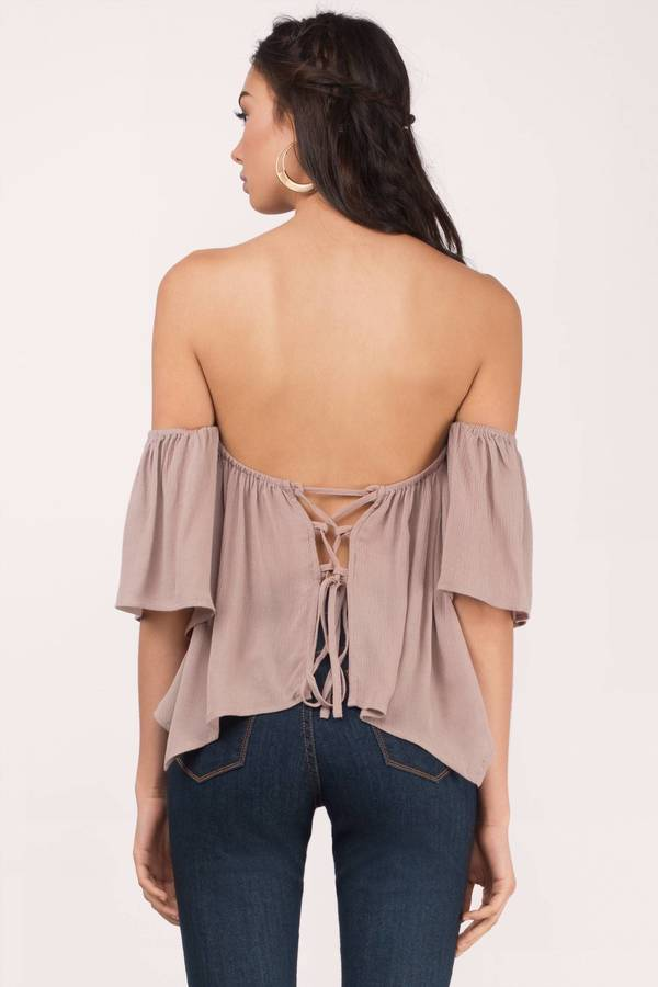 Live A Little Off Shoulder Blouse