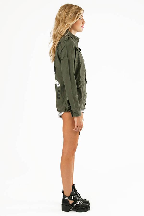 Glamour Kills Basic Training Surplus Jacket