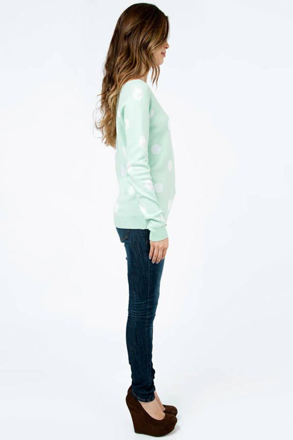 Lucca Couture Dot-O-Rama Sweater