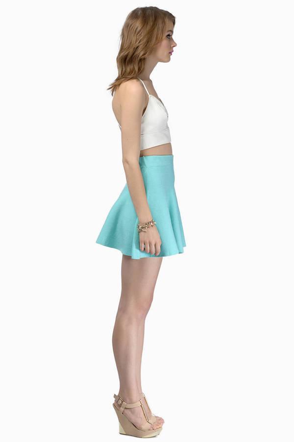Flirty Flippy Sweater Skirt