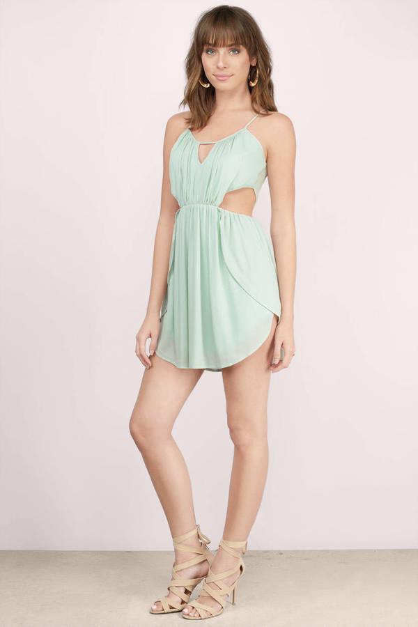 Trendy Mint Dress - Green Dress - Mint Short Dress - Day Dress - $11 ...