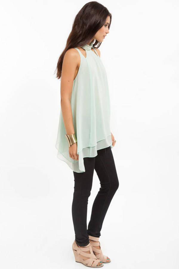 Sheer Luck Tunic Tank