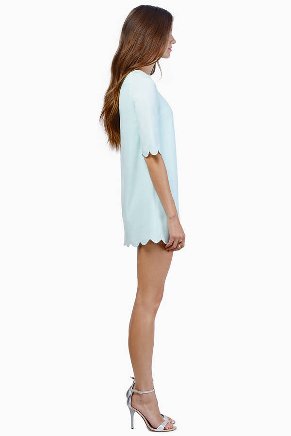 Sweetly Scalloped Dress