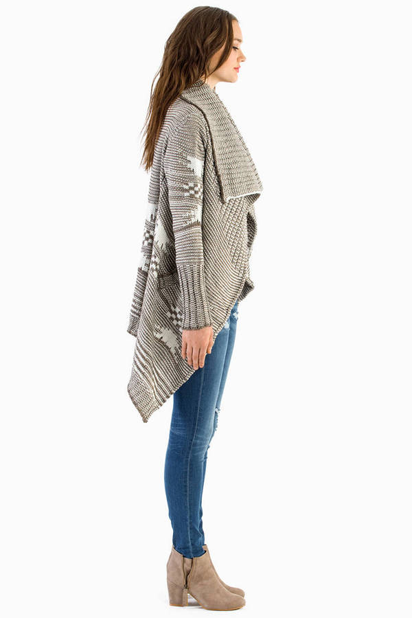 Keisha Draped Cardigan