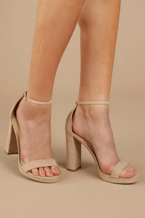20c402b94f Black Heels - Ankle Wrap Heels - Classic Black Heels - Dressy Heels ...