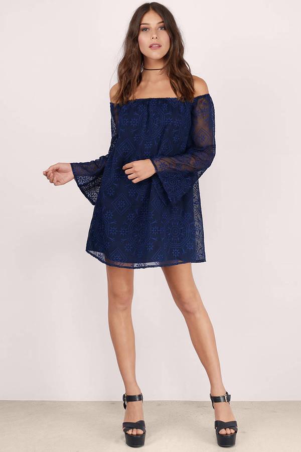 All About Lace Shift Dress