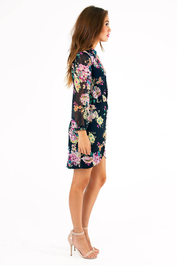 Wrapped In Petals Dress