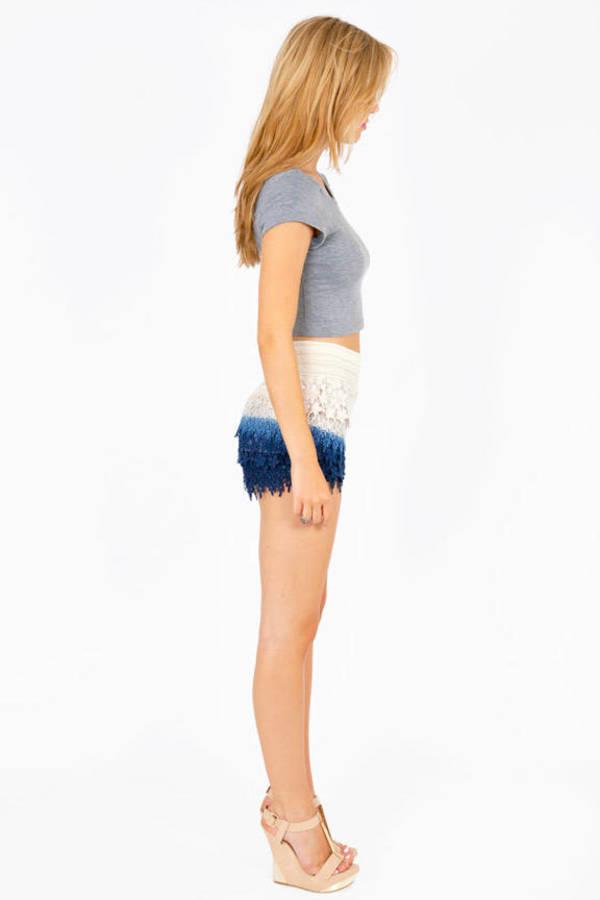 Les Sisters Lace Shorts