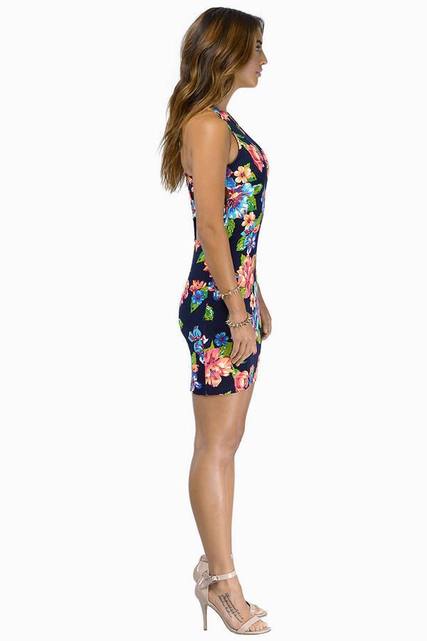 Midnight Blooms Dress