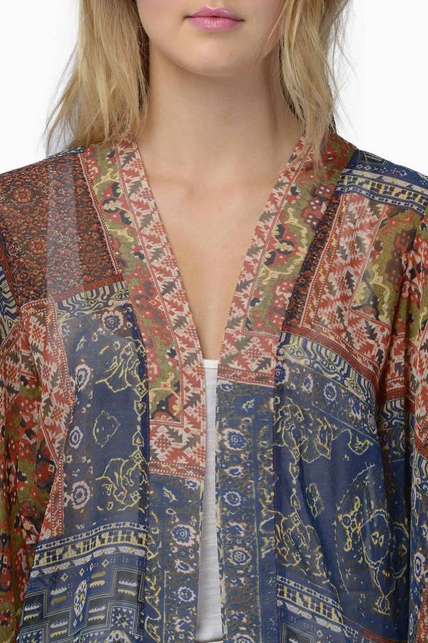 Open Range Kimono