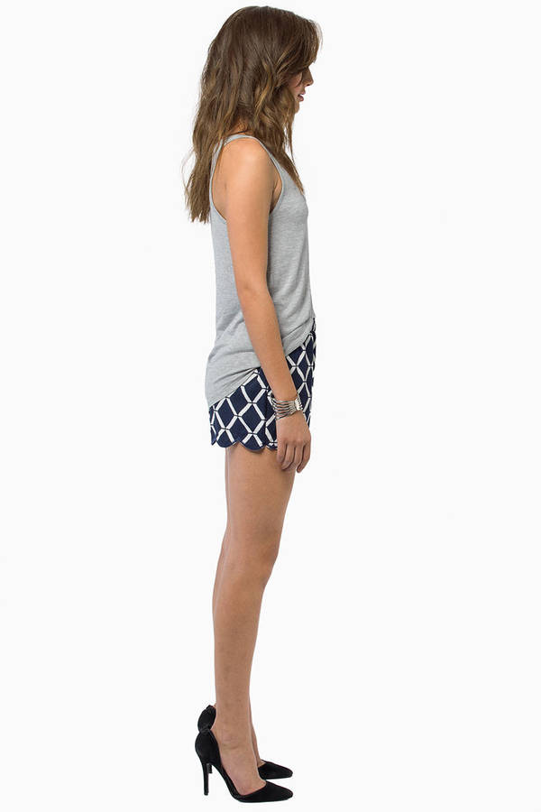 Playtime Scallop Shorts