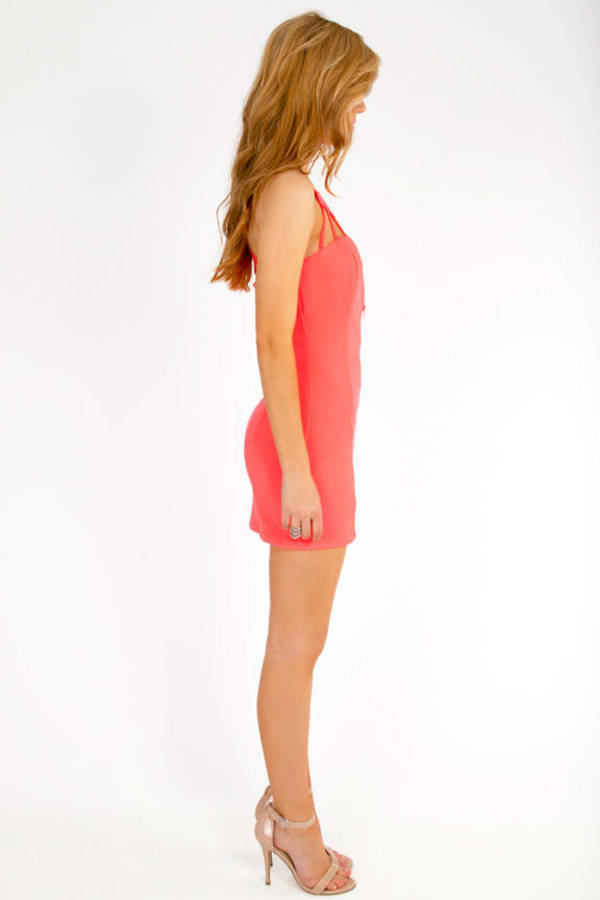Neon Your Way Bodycon Dress