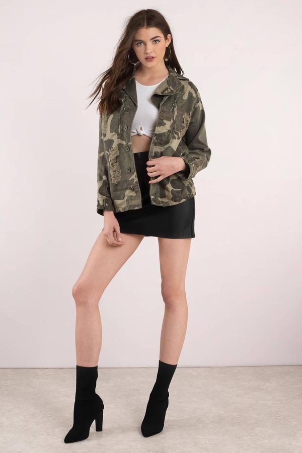 2ac1b2574297d Olive Green Jacket - Camo Jeans Jacket - Olive Green Military Jacket ...