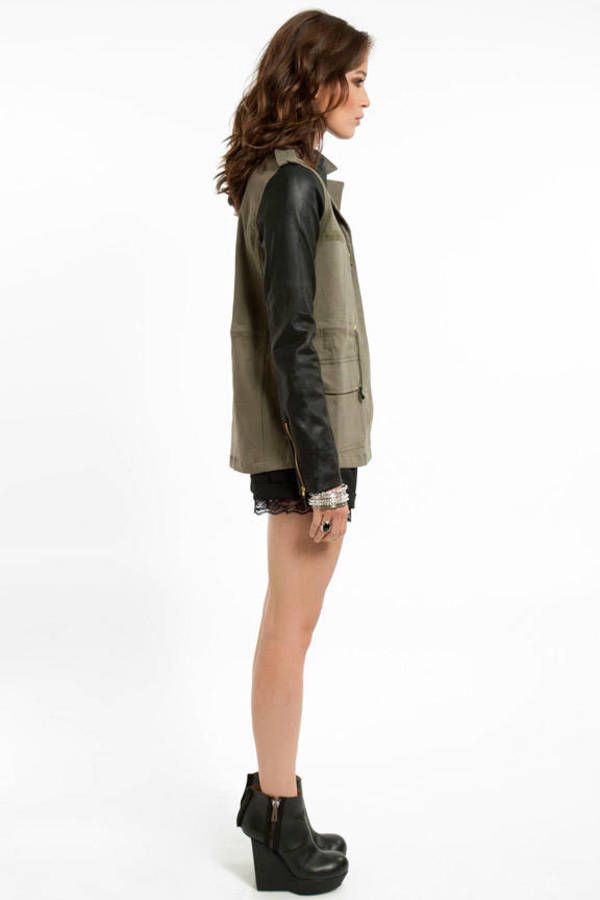 Jane Contrast Jacket