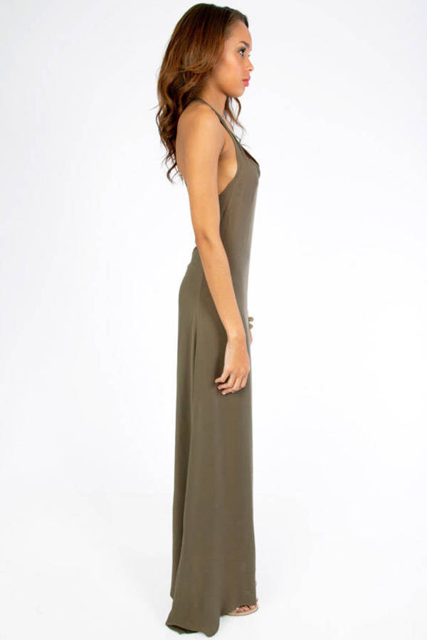 Rae Cuts Back Maxi Dress