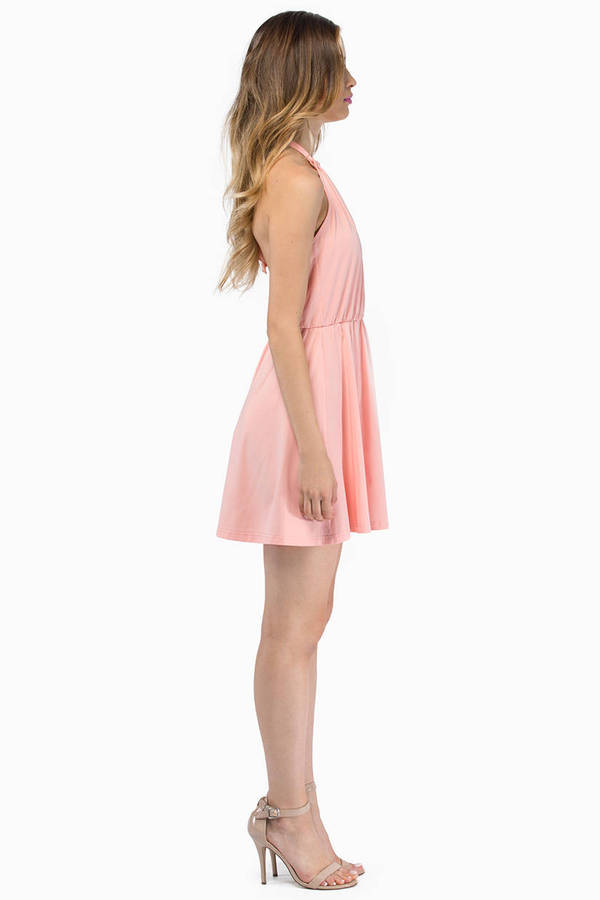 All Or Nothing Skater Dress
