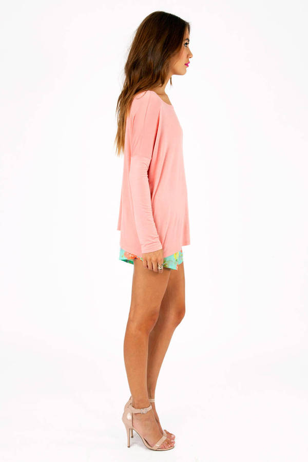 Back To Basics Long Sleeve Top