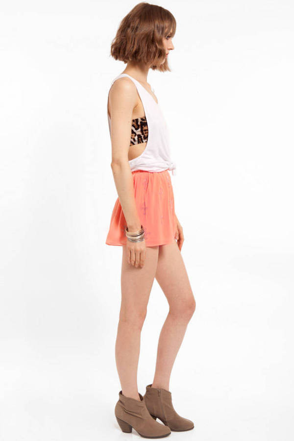 Sequin Cross Shorts