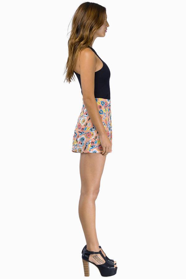 Giselle Watercolor Shorts