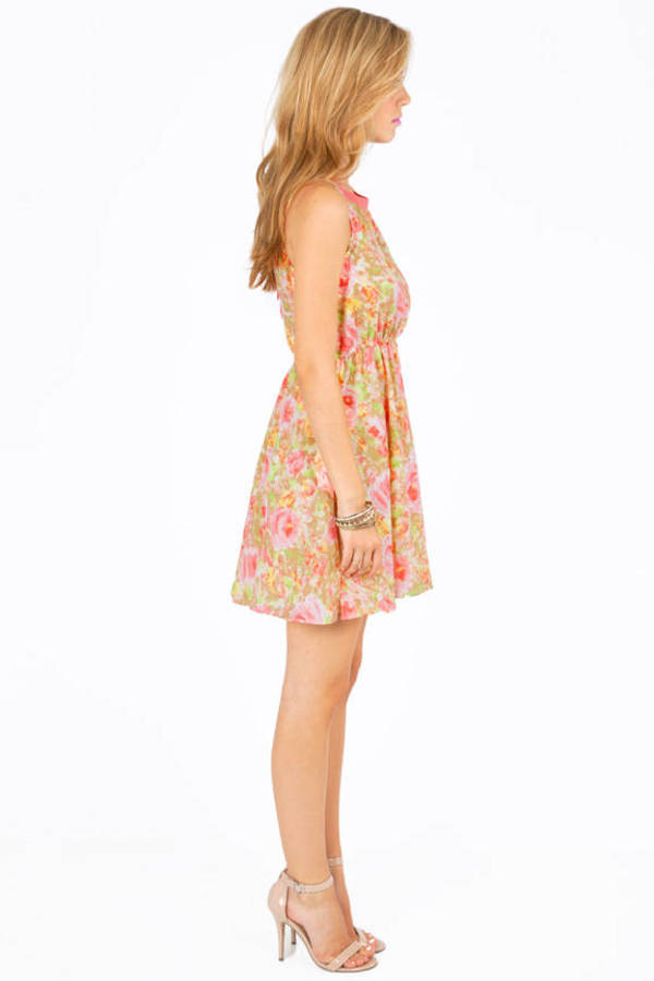 Dollhouse Floral Dress