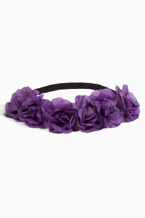 Royal Floral Headband