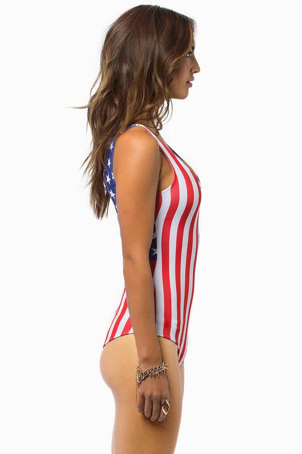Star Spangled Bodysuit