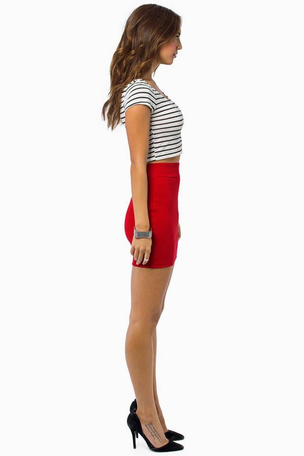 Wild Child Mini Skirt